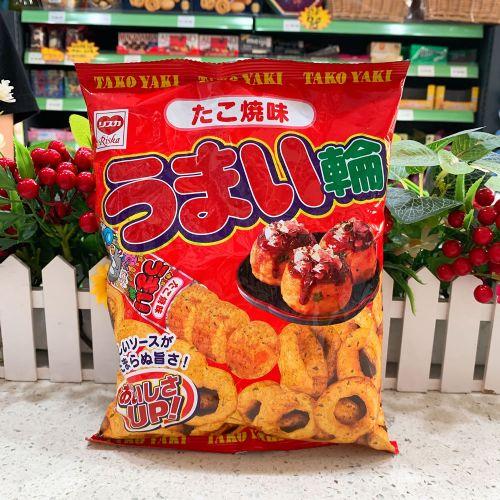 日本域诗卡烧八爪鱼丸粟米圈75g(袋装)