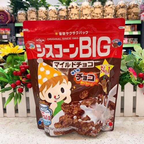 日本日清儿童巧克力麦片220g