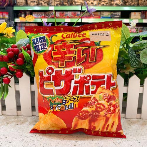日本卡乐B 辛辣芝士Pizza味薯片60g(袋装)