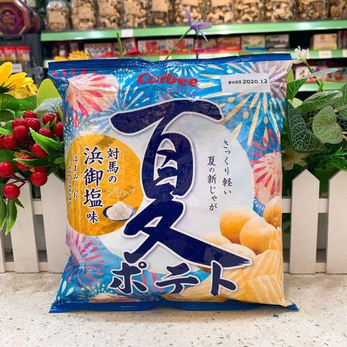 日本卡乐B 夏日滨御盐味波浪薯片65g(袋装)