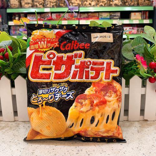 日本卡乐B Pizza味薯片63g(袋装)