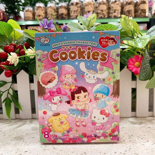 日本不二家牛奶妹xSanrio草莓红莓碎朱古力曲奇8枚(盒装)