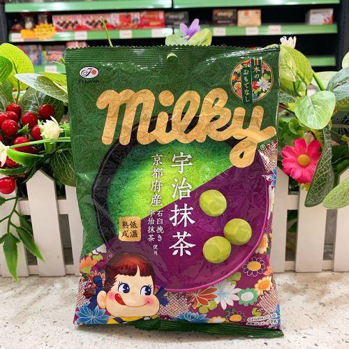 日本不二家牛奶妹抹茶糖120g(袋装)