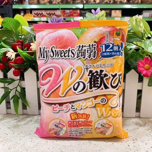 日本My Sweets�X�m12个装(水蜜桃芒果)246g
