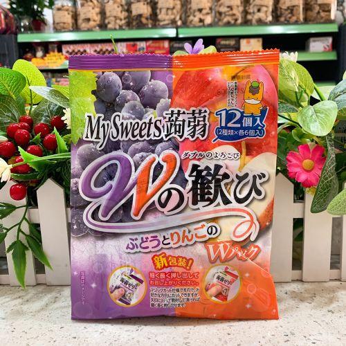 日本My Sweets�X�m12个装(紫提苹果)246g