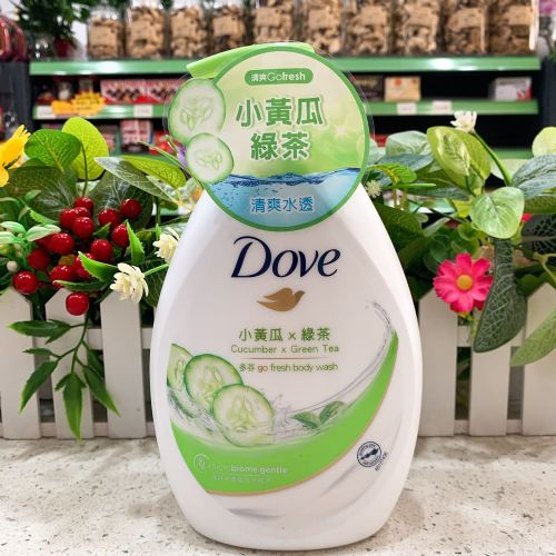 多芬清爽水嫩沐浴露(小黄瓜+绿茶)1000ml