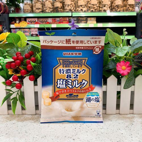 日本UHA味觉8.2特浓盐牛奶糖75g(袋装)