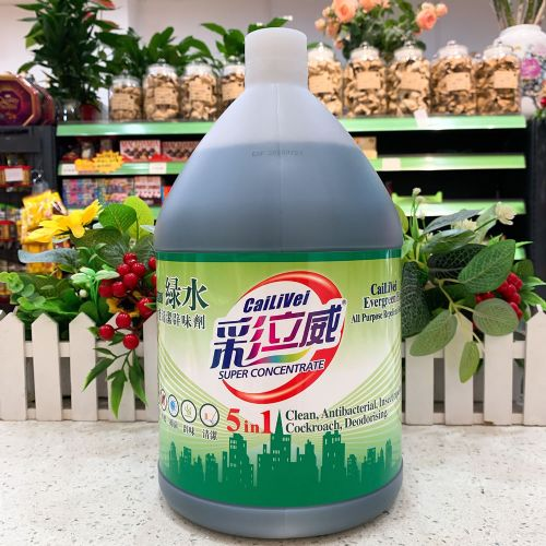 彩立威绿水全能清洁辟味剂3.8L