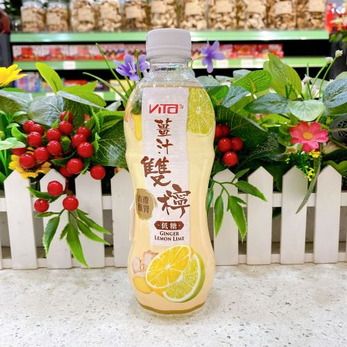 维他姜汁双柠低糖果汁500ml