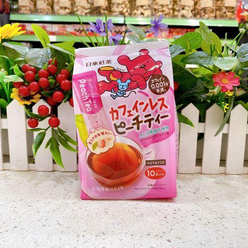 日本日东红茶香桃茶冲剂10本(企袋)