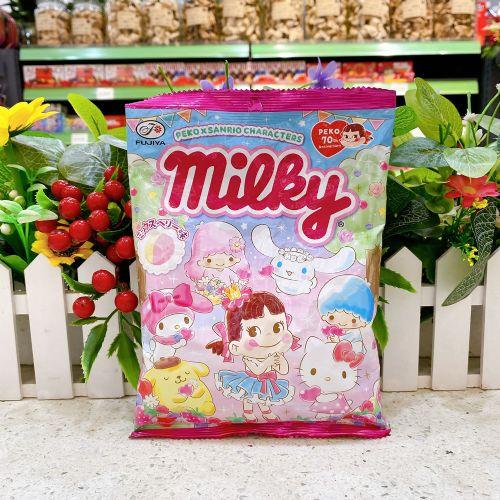 日本不二家牛奶妹Sario杂莓牛奶糖72g(袋装)