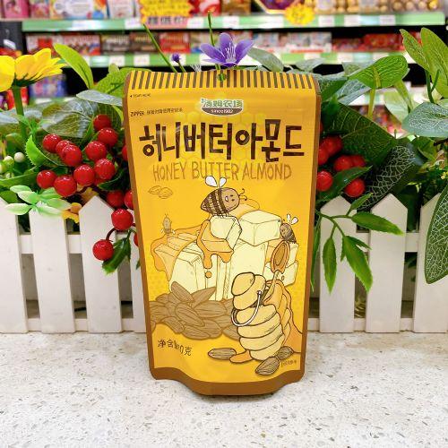 韩国汤姆农场蜂蜜黄油杏仁80g