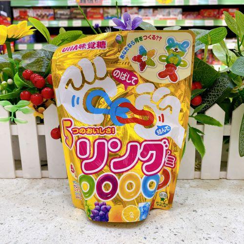 日本UHA悠哈味觉什锦果汁橡皮软糖202g