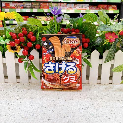 日本UHA味觉可乐乳酸扁带糖7枚(袋装)