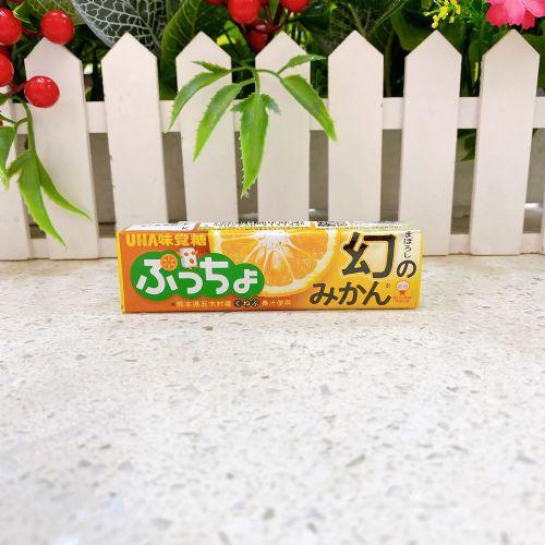 日本UHA悠哈味觉粒粒幻之蜜柑软糖10粒(条装)