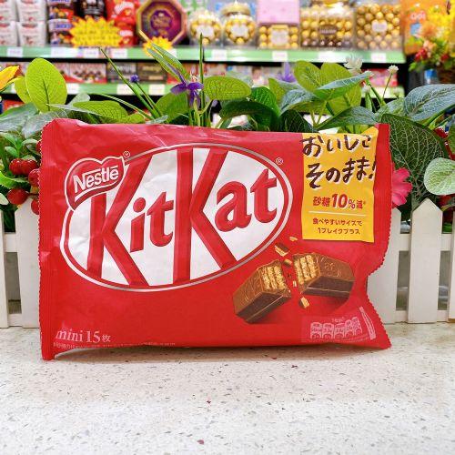 日本雀巢kitkat巧克力威化15枚