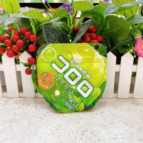 日本UHA悠哈味觉糖100%果汁软糖(青提味)48g
