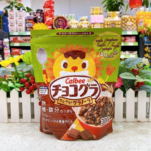 日本卡乐B 五种谷物朱古力燕麦片300g(袋装)