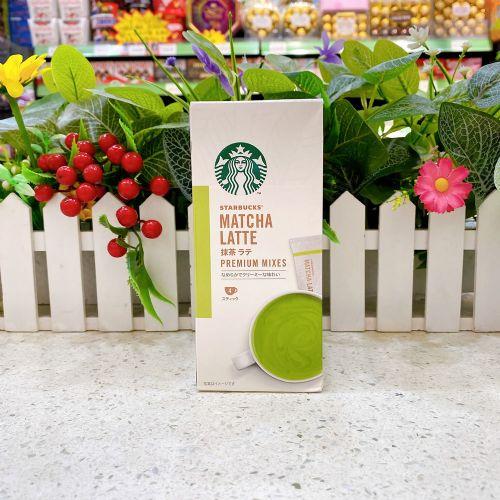 日本雀巢Starbucks抹茶拿铁冲剂4本(盒装)