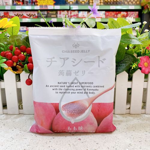 日本 CHIA SEED �X�m(白桃味)10个装