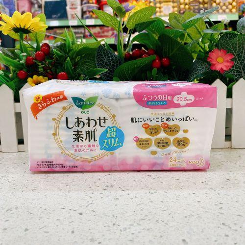 日本花王乐而雅产妇无荧光剂日用24片20.5cm