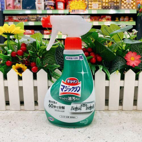 日本花王魔术强力油污喷雾清洗剂400ml