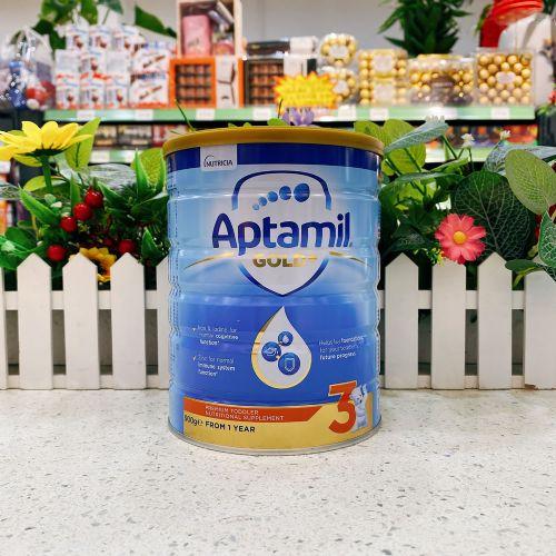 澳洲Aptamil爱他美3段金装奶粉900g