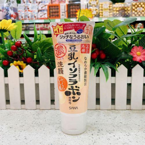 日本sana豆乳美肌浓润洁面乳150g