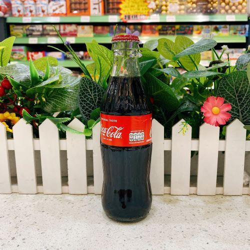 泰国复古玻璃瓶可口可乐250ml