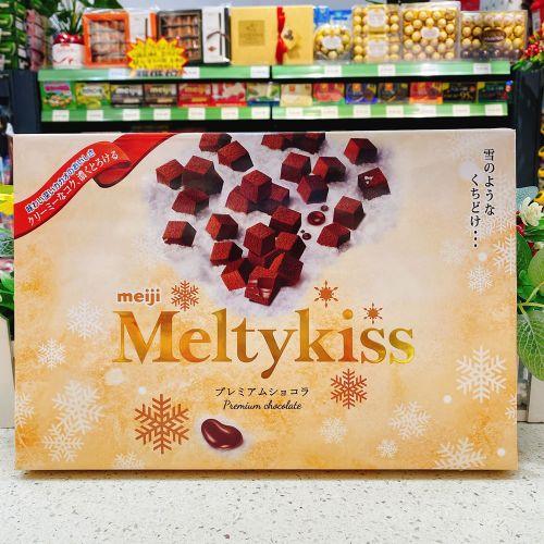 日本明治Meltykiss雪吻巧克力(牛奶味)116g