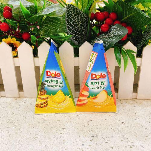 韩国DOLE水果味冰沙果冻饮料62ml