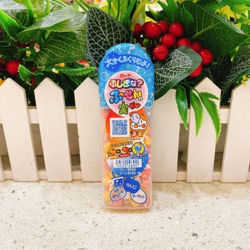 日本乐天香橙苹果乳酪吹波胶35g(筒装)