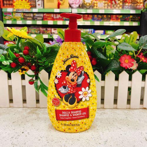 意大利迪士尼二合一洗发水沐浴露500ml(橙色)