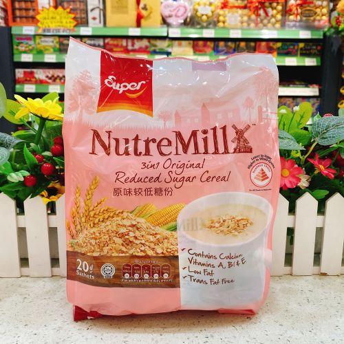 马来西亚超级牌三合一低糖麦片600g