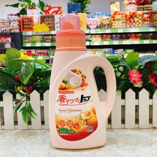 日本狮王TOP香味持续洗衣液(花果香型)850g