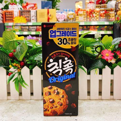 韩国乐天巧克力曲奇饼90g