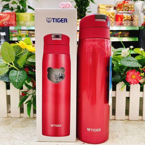 日本TIGER虎牌保温杯500ml(玫红色)MCX-A501PO