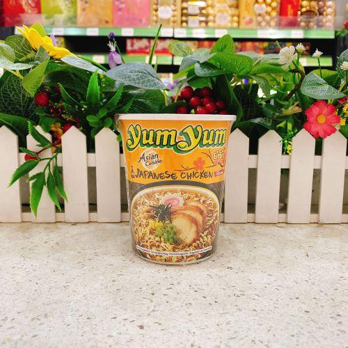泰国养养牌鸡味日式鼓油汤面杯面70g