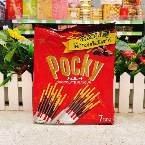 泰国POCKY巧克力涂层饼干154G
