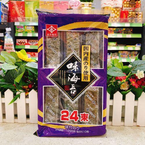 永井原味海苔实惠装24袋