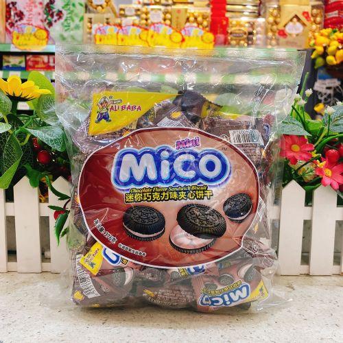 迷你巧克力味夹心饼干376g