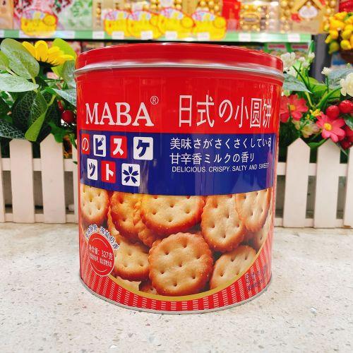 MABA日式小圆饼(海盐味)327g