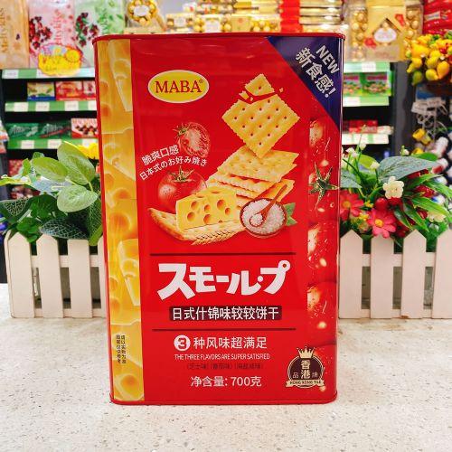 MABA牌日式什锦味较较饼干700g