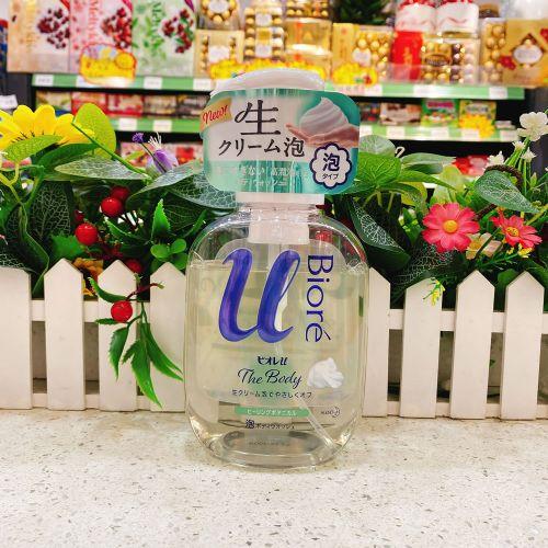 日本碧柔高润滑慕斯沐浴露540ml(植物香)