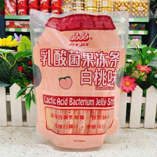 晶晶乳酸菌果冻条(白桃口味)390g
