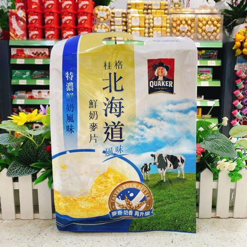 桂格北海道特浓鲜奶麦片336g