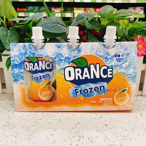 喜获香橙味可吸果冻180g