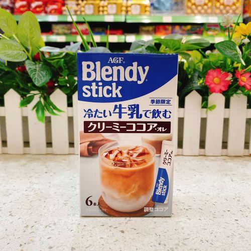 日本AGF Blendy Stick 牛奶朱古力冲剂6本(盒装)