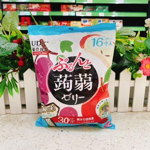 优之良品�X�m果冻(葡萄+苹果味)240g