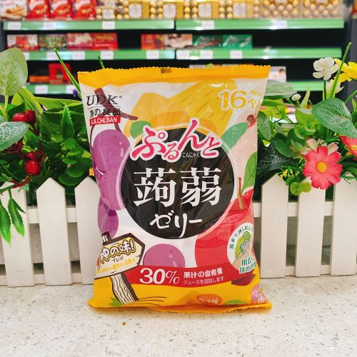 优之良品�X�m果冻(芒果+白桃+葡萄+苹果味)240g